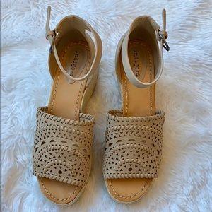 Indigo Rd. Jordie Wedge Sandals Size 8
